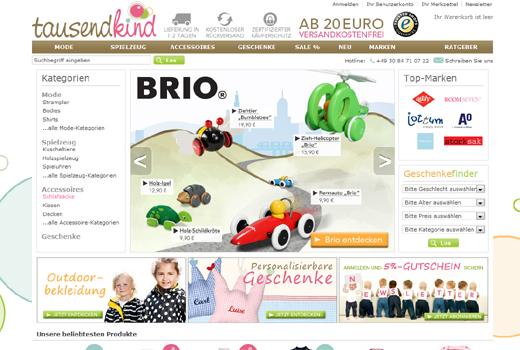 Frisches Kapital für tausendkind – Altgesellschafter investieren erneut in das Kindermode-Start-up