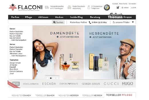 Flaconi verkauft Parfüm – Paua Ventures, Dirk Graber und trivago-Gründer unterstützen das Start-up