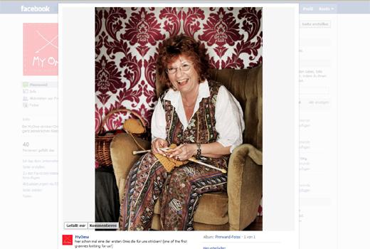 Skurril: Bei MyOma stricken Omas Mützen, Handschuhe und Socken