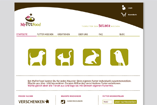 Kurzmitteilungen: MyPetfood, pocketvillage, Lieferheld, Elektriker.org