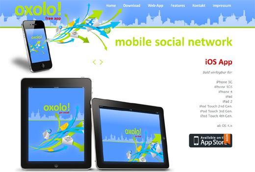 Mit oxolo kann jeder unterwegs netzwerken – Heiko Hubertz investiert in das mobile Social Network