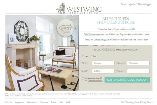 Trendthema Möbelclubs: Auch Point Nine Capital unterstützt Westwing