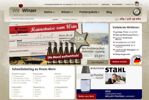 E-Commerce Werke starten WirWinzer – Nils Regge und Mark Gazecki unterstützen den Marktplatz für Wein