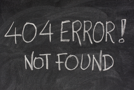 404 Error – Die 10 schönsten deutschen Fehlerseiten