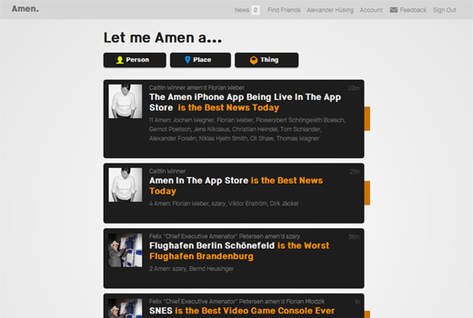 Amen is The Best German Start-up Ever. Amen? Hell no?