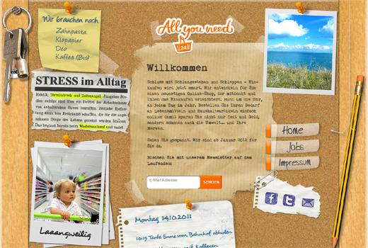 Erstes Lebenszeichen von Allyouneed24 – Online-Shop startet im Januar