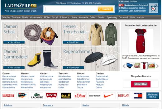 Was läuft da zwischen Ladenzeile.de und Springer?