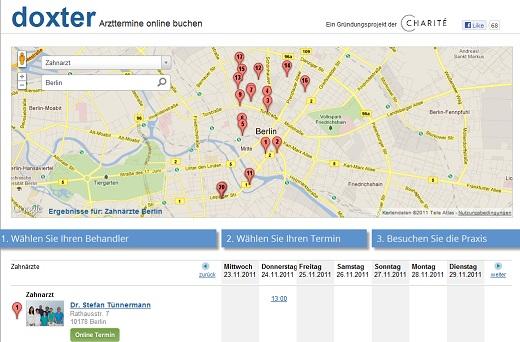 Mit Arzttermine.de, Doxter und HalloDr. Arzttermine online buchen