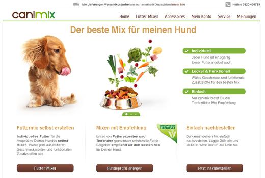 Canimix mischt Hundefutter – Tengelmann und Fressnapf-Gründer Torsten Toeller unterstützen das Start-up