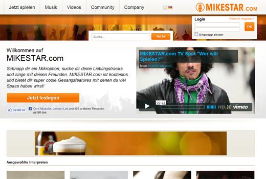 Karaokedienste ohne Karaoke: Bei Mikestar und TalentRun wird nicht mehr gesungen