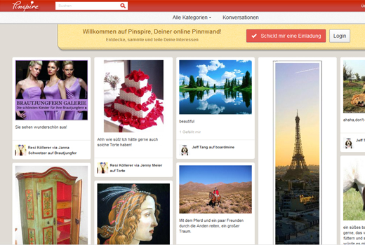 Rocket Internet Kopiert Pinterest