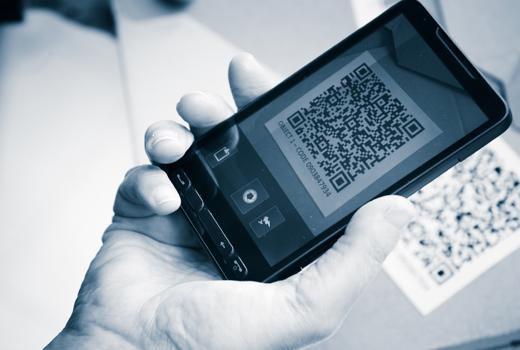 QR-Codes verbinden Print-Produkte und Online-Medien