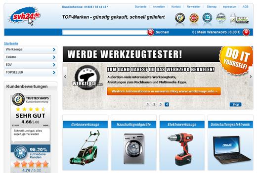 Über 8 Millionen Euro: Werkzeug-Shop svh24.de sammelt Kapital ein