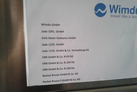 Fundstück: Wimdu