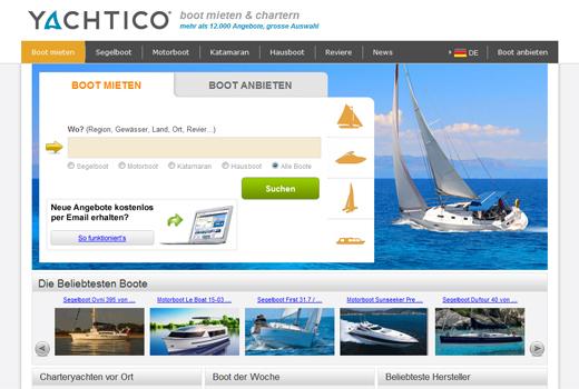 Kurzmitteilungen: Yachtico, Rheingau Founders, MySweetsBox, smava, Fidor, Tradoria, Rakuten