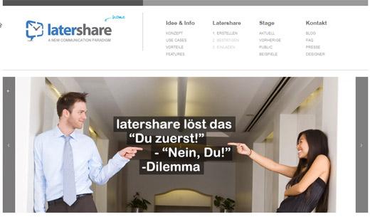 latershare: Authentische Feedbacks durch zeitversetztes Sichtbarmachen