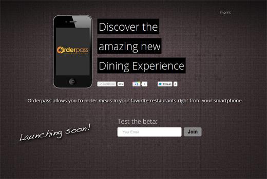 Nie wieder warten: Orderpass bringt die Speisekarte auf Handy