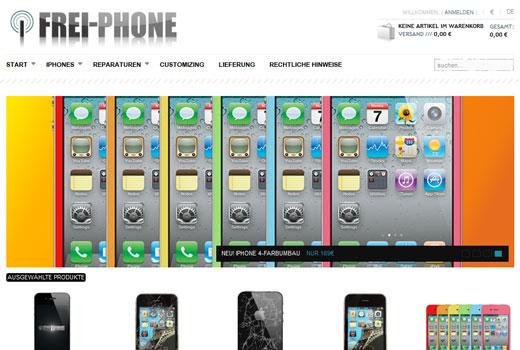 Frei-Phone repariert Smartphones und berät in Sachen Tarife
