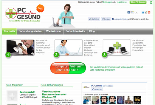 PC Gesund bietet Erste Hilfe für den Computer