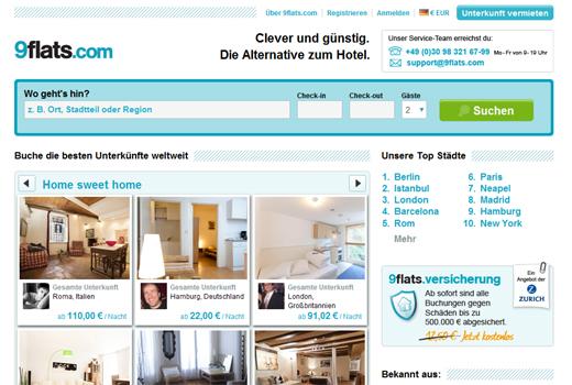 Neue Millionenspritze: Telekom steigt bei 9flats.com ein
