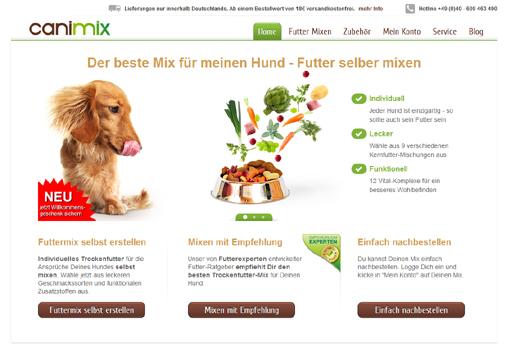 Canimix geht an den Start – Start-up liefert Hundefutter auch im Abo