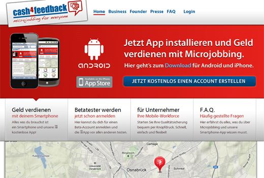 Kurzmitteilungen: cash4feedback, AppJobber, MAC IT-Solutions, Urbanara, Gründerpokern, Venture Lounge