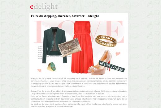 edelight auf Expansionskurs: Im März startet der erfolgreiche Social Commerce-Dienst in Frankreich