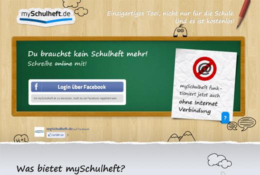 Bei mySchulheft.de werden Schulhefte digital – mySchoolNotebook startet in Deutschland
