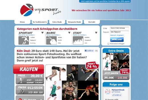 5 neue Start-ups: MySportDeals, FamilyDeal.de, centerdeals, meindeal.de, PfalzDeal