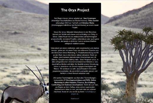 The Oryx Project – Ex-Rocket-Team stellt erstmals seine Pläne vor