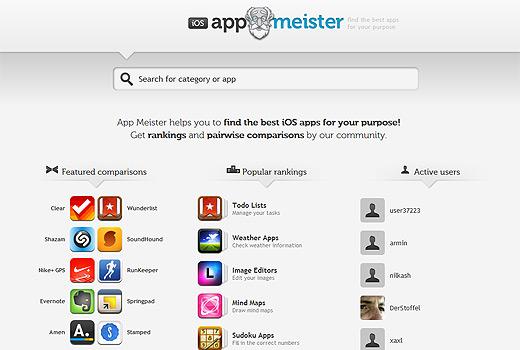 App Meister ist das etwas andere Bewertungsportal für iOS-Apps