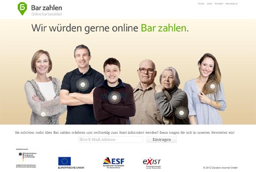 Bar zahlen bringt das Bargeld in den E-Commerce – Bekannte Business Angels unterstützen das Start-up