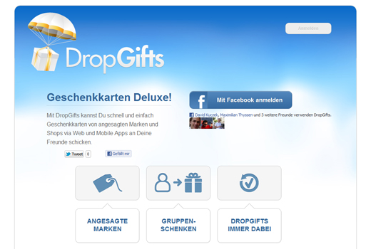 Rocket Internet kopiert Wrapp – Dropgifts steht in den Startlöchern