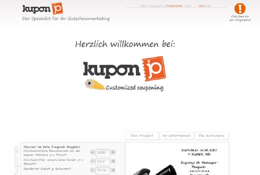 Kurzmitteilungen: Kuponjo, tausendkind, crossvertise, airbnb, Glossybox