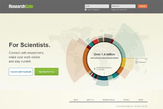 Founders Fund, Benchmark und Accel unterstützen ResearchGate