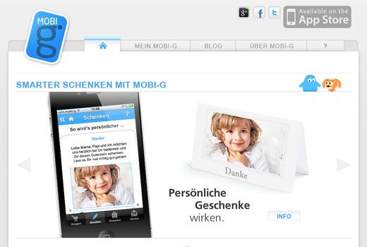mobi-g macht das Schenken smart und mobil
