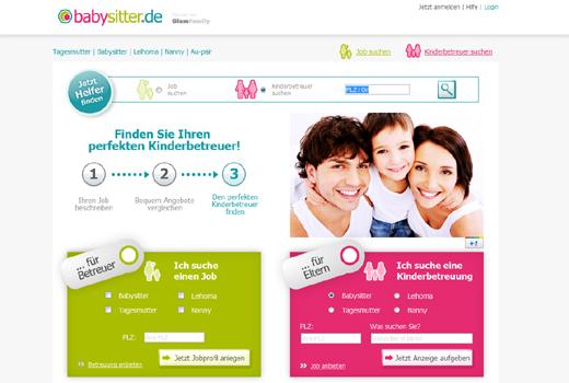 Babysitter.de wechselt den Besitzer: Domain gehört jetzt Betreut.de