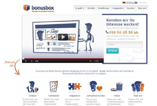 Kurzmitteilungen: bonusbox, UI-Check.com, youPec, lieferando, Grin