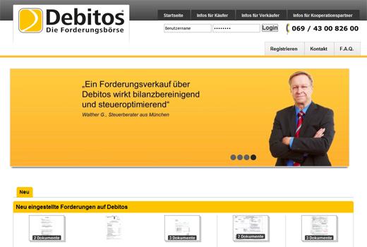 Bei Debitos verkaufen KMUs ihre Forderungen