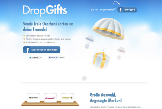 Rocket Internet holt eVenture Capital Partners und NEA bei Dropgifts an Bord
