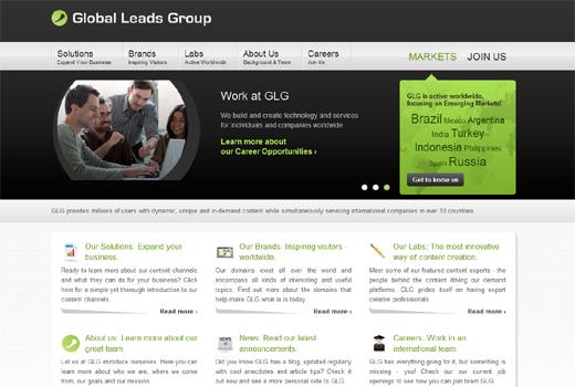 Kurzmitteilungen: Global Leads Group, GetYourGuide, Axel Springer Digital Classifieds, wimdu, Eyemade