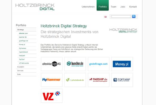 Ausverkauf bei Holtzbrinck: Nach studiVZ und Parship stehen auch meinestadt.de und Experteer zum Verkauf