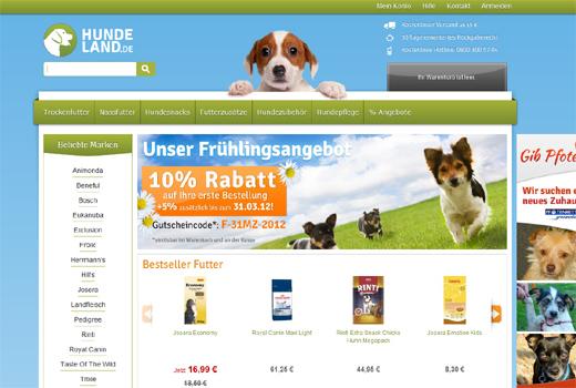 Futter, Snacks, Zubehör: Venture Stars geht mit Hundeland.de an den Start