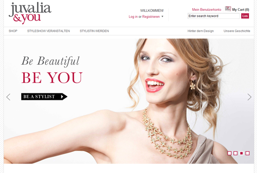 Schmuck- statt Tupperparty: Springstar startet Schmuck-Start-up Juvalia & You