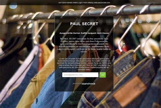 Ex-Rocket-Duo gründet Paul Secret, einen Curated Shopping-Dienst
