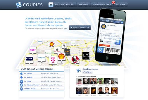 Coupies sammelt Kapital ein: CologneInvest investiert in das Kölner Start-up