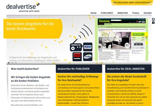 Mit Dealvertise wird jeder zum Dealanbieter – Bertelsmann investiert Millionenbetrag in das Start-up