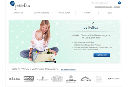 5 neue Start-ups: petiteBox, Emplido, KochAbo.at, Impuls-Diät, Was gab ich?