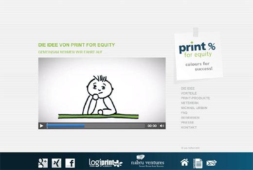 Papier gegen Anteile: Michael Urban startet Print for Equity