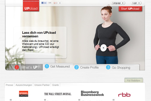 Retouren waren gestern: Upcload legt offiziell mit seinem Online-Vermessungsdienst los